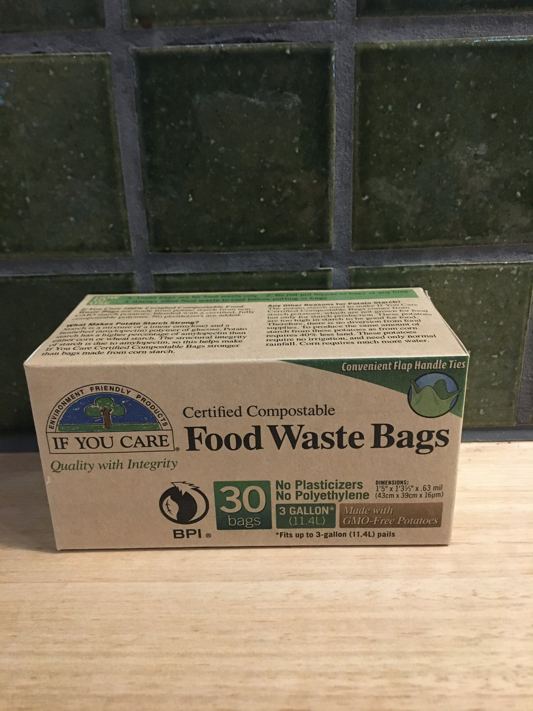 If You Care Food Waste Bags 11.4L 30pk