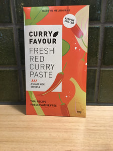 Curry Favour Red Curry Paste 70g