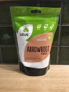 Lotus Arrowroot Powder - Organic 250g