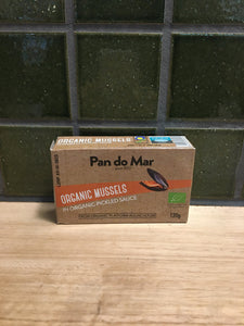 Pan Do Mar Mussels Organic 120g