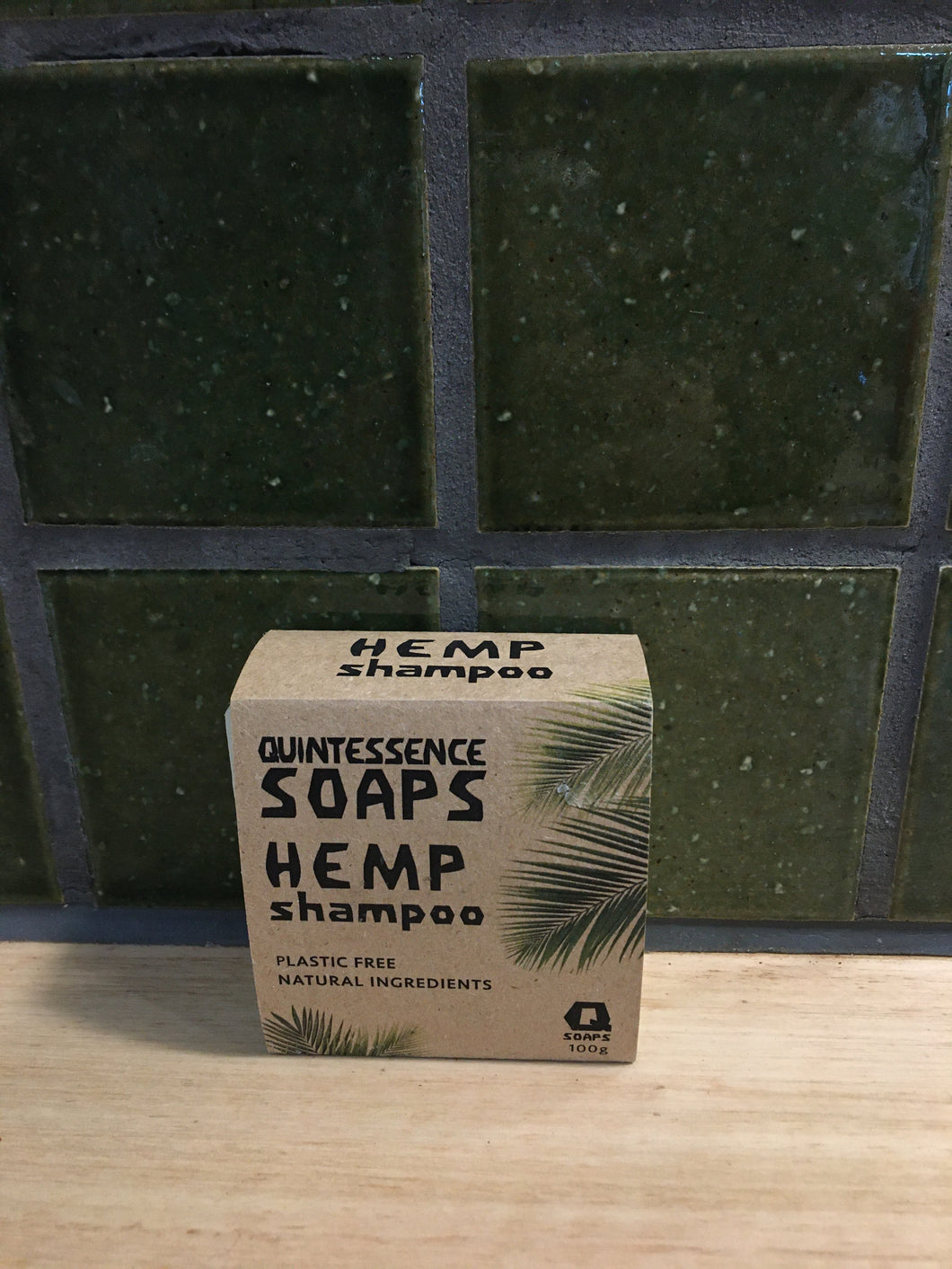 Quintessence Soaps - Hemp Shampoo Bar 100g