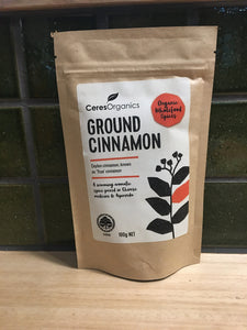 Ceres - Ground Cinnamon 100g