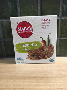Mary's Gone Crackers - Jalapeno 155g