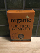 Load image into Gallery viewer, Organic Times Chocolate Ginger 150g