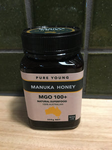 Pure Young Manuka Honey MGO 100+ 500g