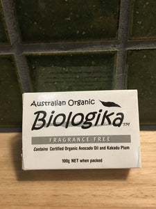Biologika Soap Fragrance Free 100g