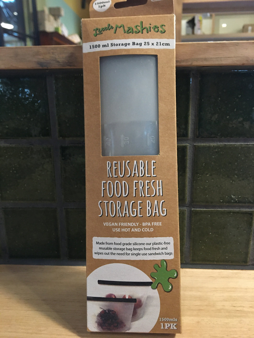 Little Mashies - Resuable Storage Bag 1.5L