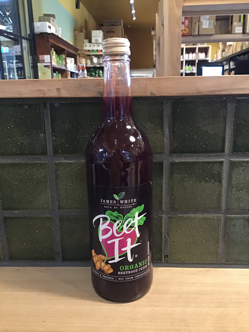 James White Beet It Organic Beetroot with Ginger 75cl (750mL)