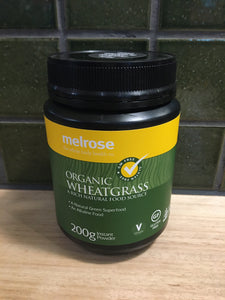 Melrose Wheat Grass - Organic 200g