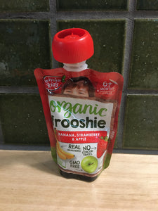 Whole Kids Frooshie - Banana Strawberry & Apple 90g