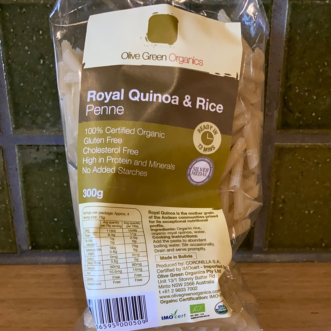 Olive Green Spaghetti Royal Quinoa & Rice 300g