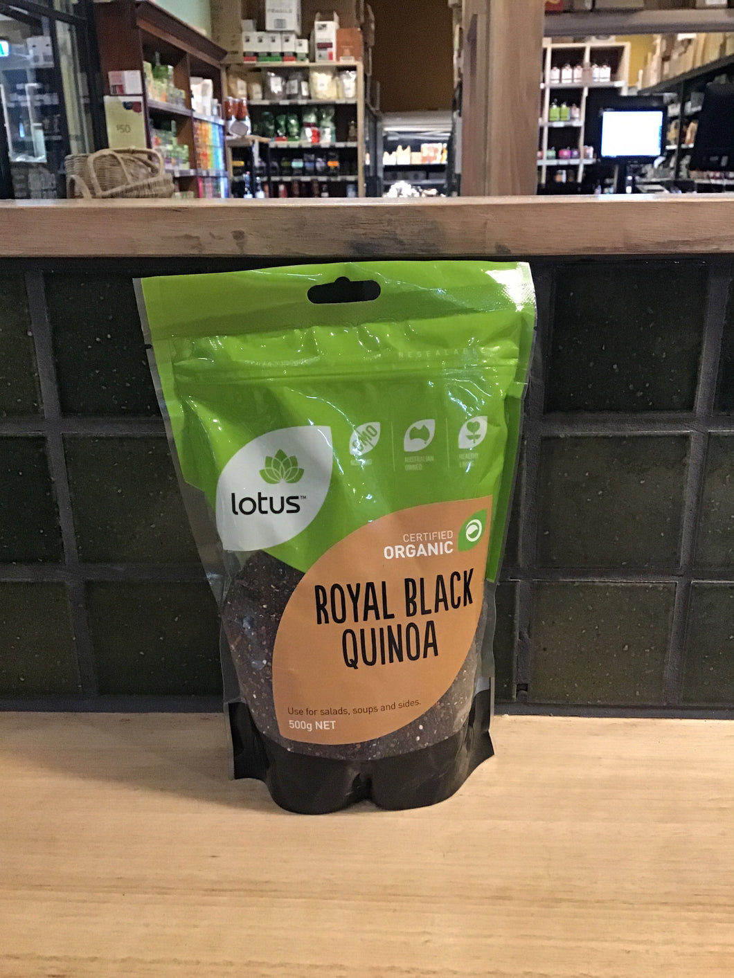 Lotus Quinoa Royal Black 500g