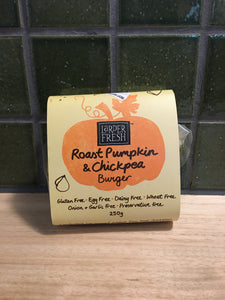 Larder Fresh Roast Pumpkin & Chickpea Burger 250g
