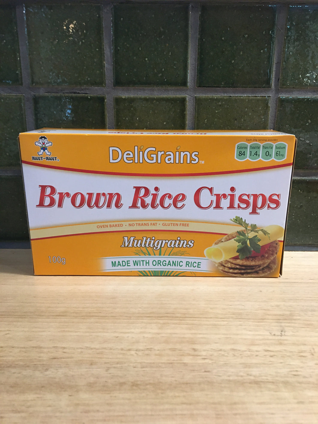 DeliGrains - Brown Rice Crisps Multigrain 100g