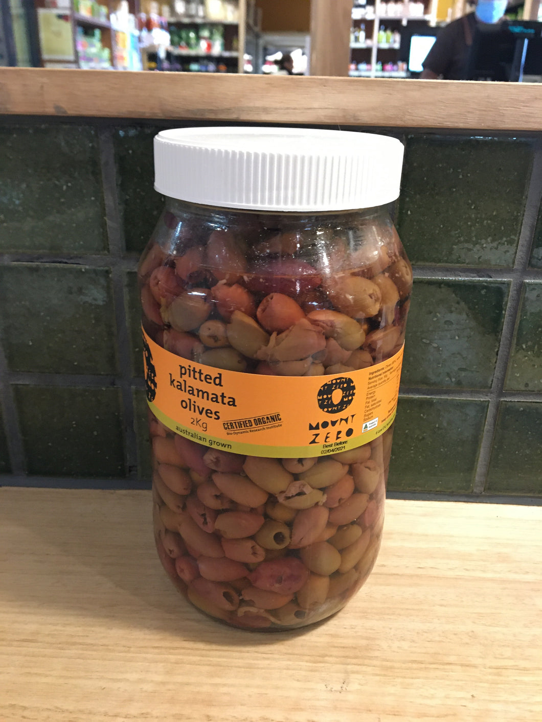 Mount Zero Olives - Kalamata Pitted 2kg