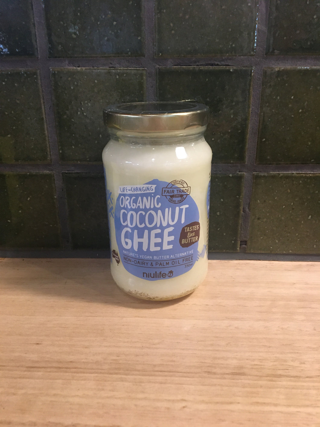 Niulife Coconut Ghee Organic 350mL