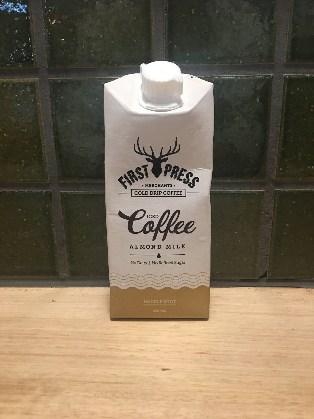 First Press Iced Coffee Almond Milk 350mL