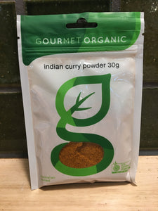 Gourmet Organic Herbs Indian Curry Powder 30g