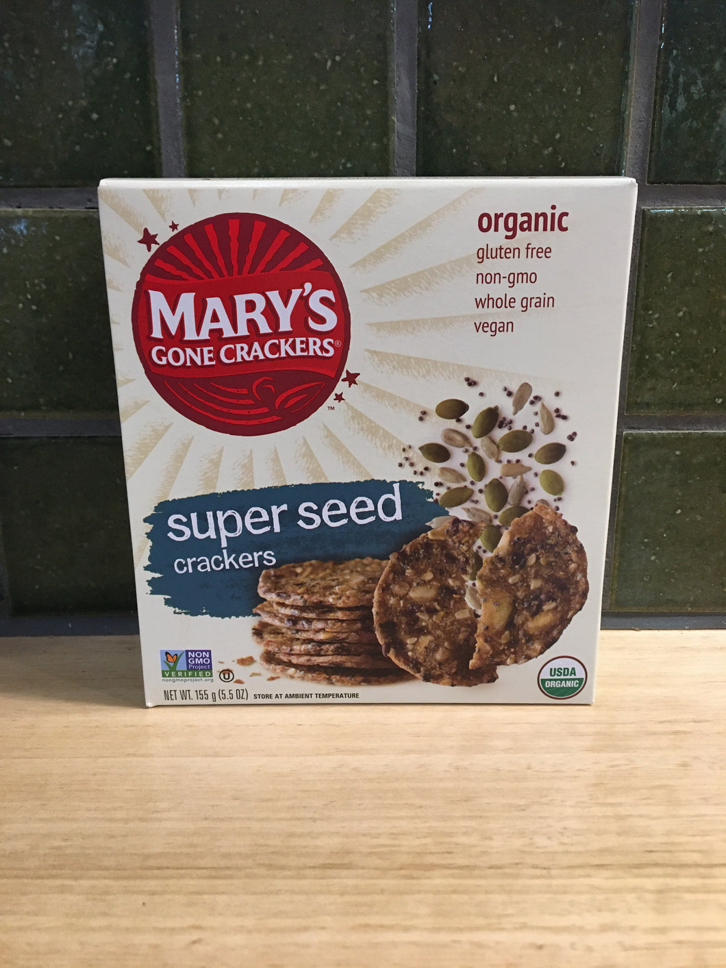 Mary's Gone Crackers - Super Seed 155g
