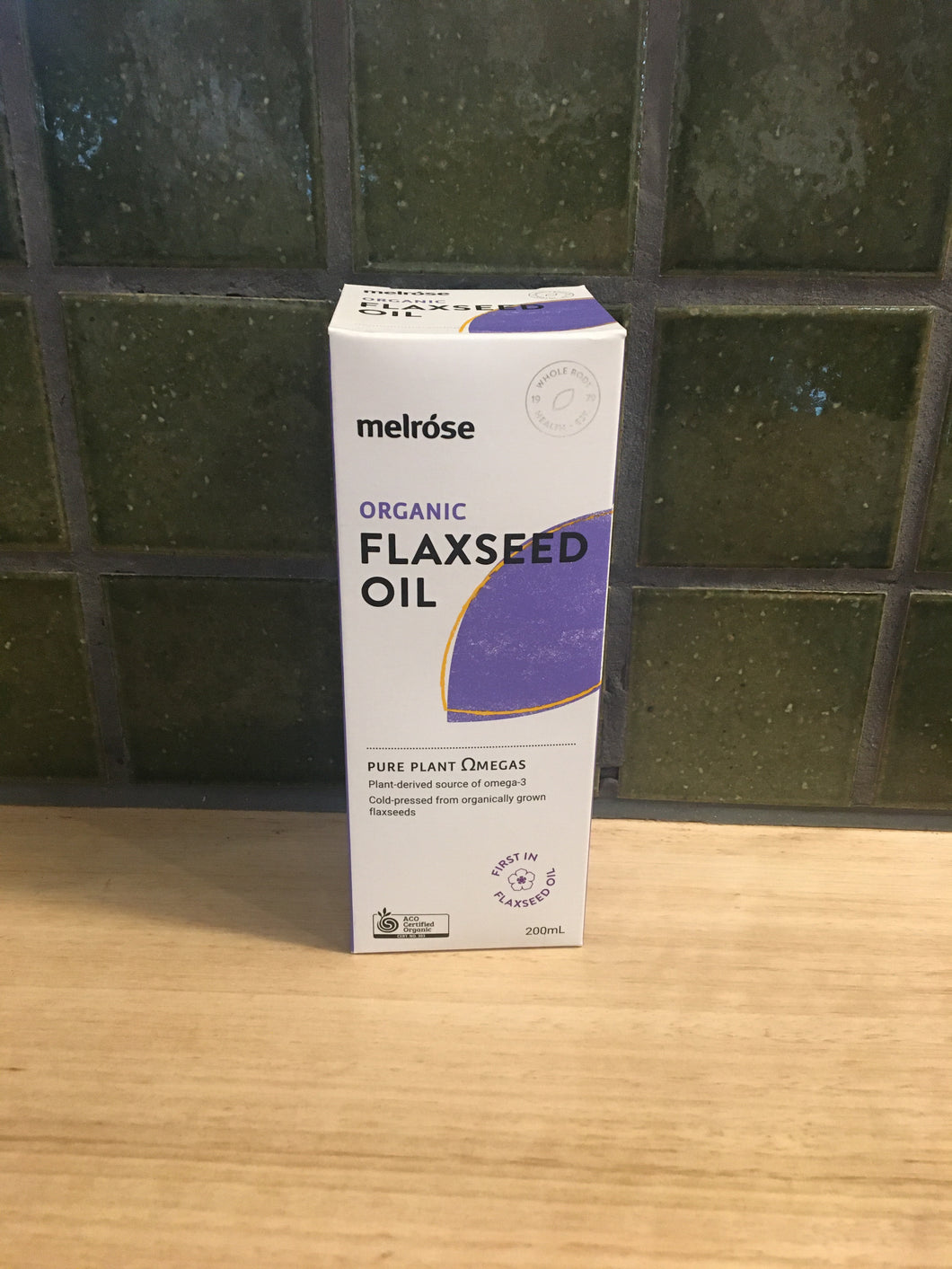 Melrose Flaxseed Oil - Organic 200mL