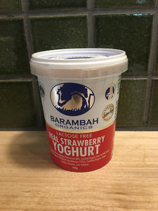 Barambah Yoghurt Strawberry 500g