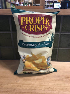 Proper Crisps Rosemary and Thyme 150g
