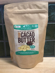 Chef's Choice Cacao Butter Buttons 300g