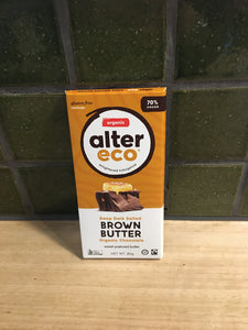 Alter Eco Chocolate Block - Dark Salted Brown Butter 80g