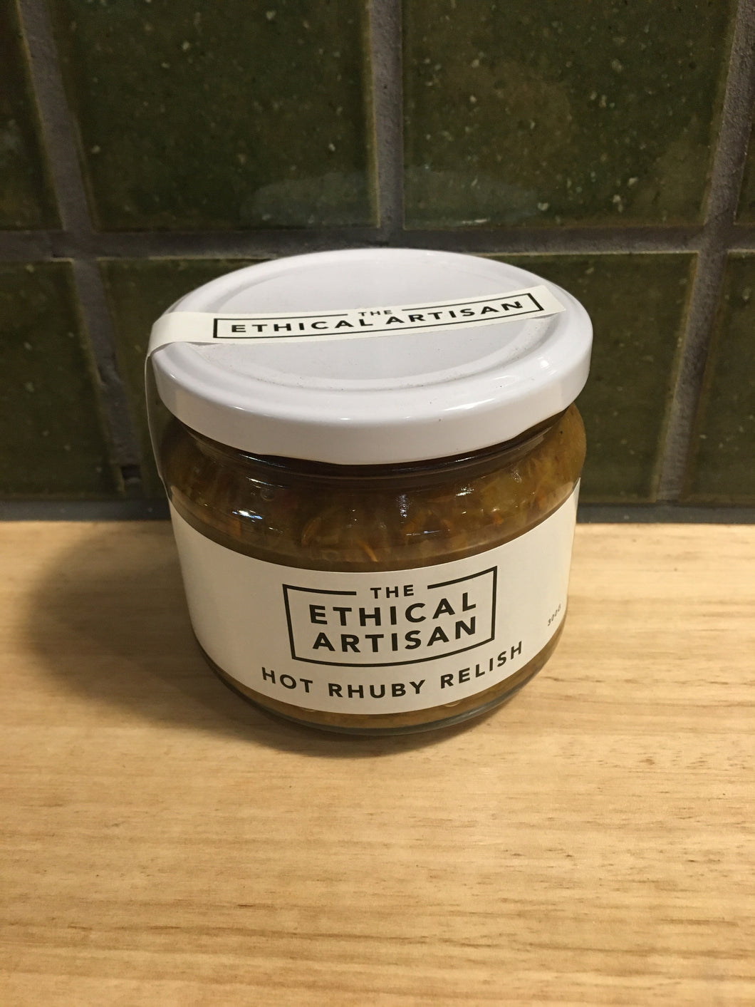 The Ethical Artisan Hot Rhuby Relish 300g