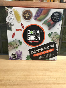 Poppy Smack Rice Paper Roll Kit 420g