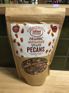2die4 Organic Activated Pecans 300g