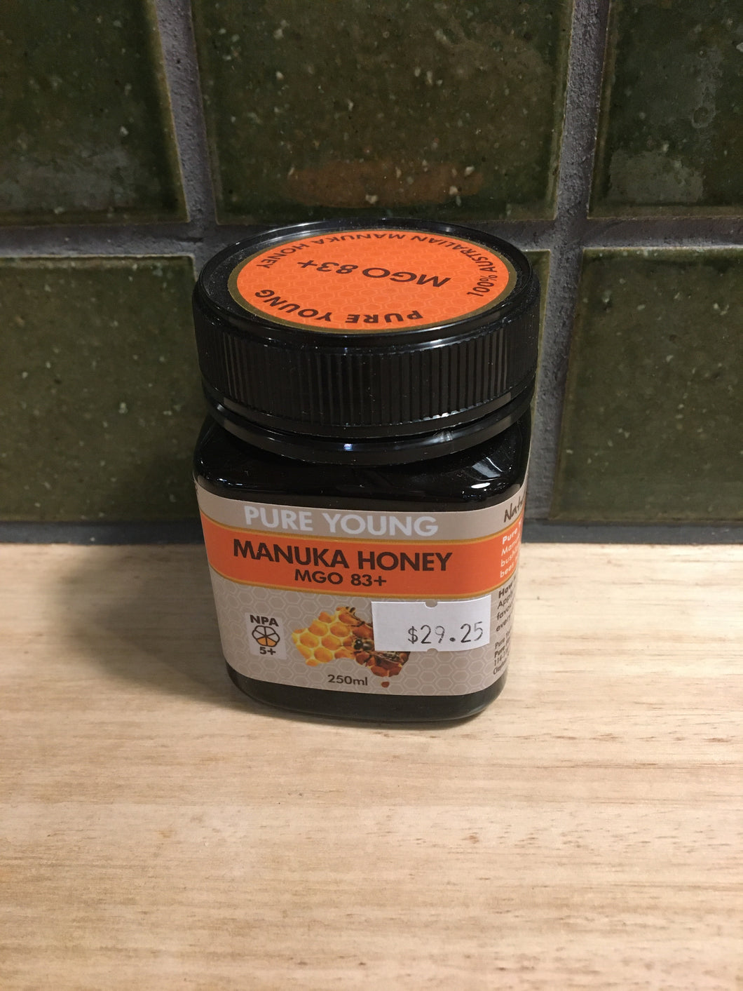 Pure Young Manuka Honey MGO 83+ 250mL
