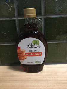 Global Organics Maple Syrup 250mL