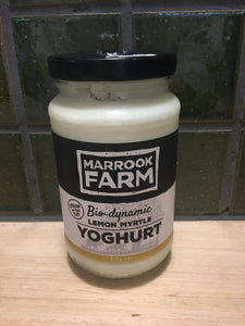 Marrook Farm Yoghurt Lemon Myrtle 375g