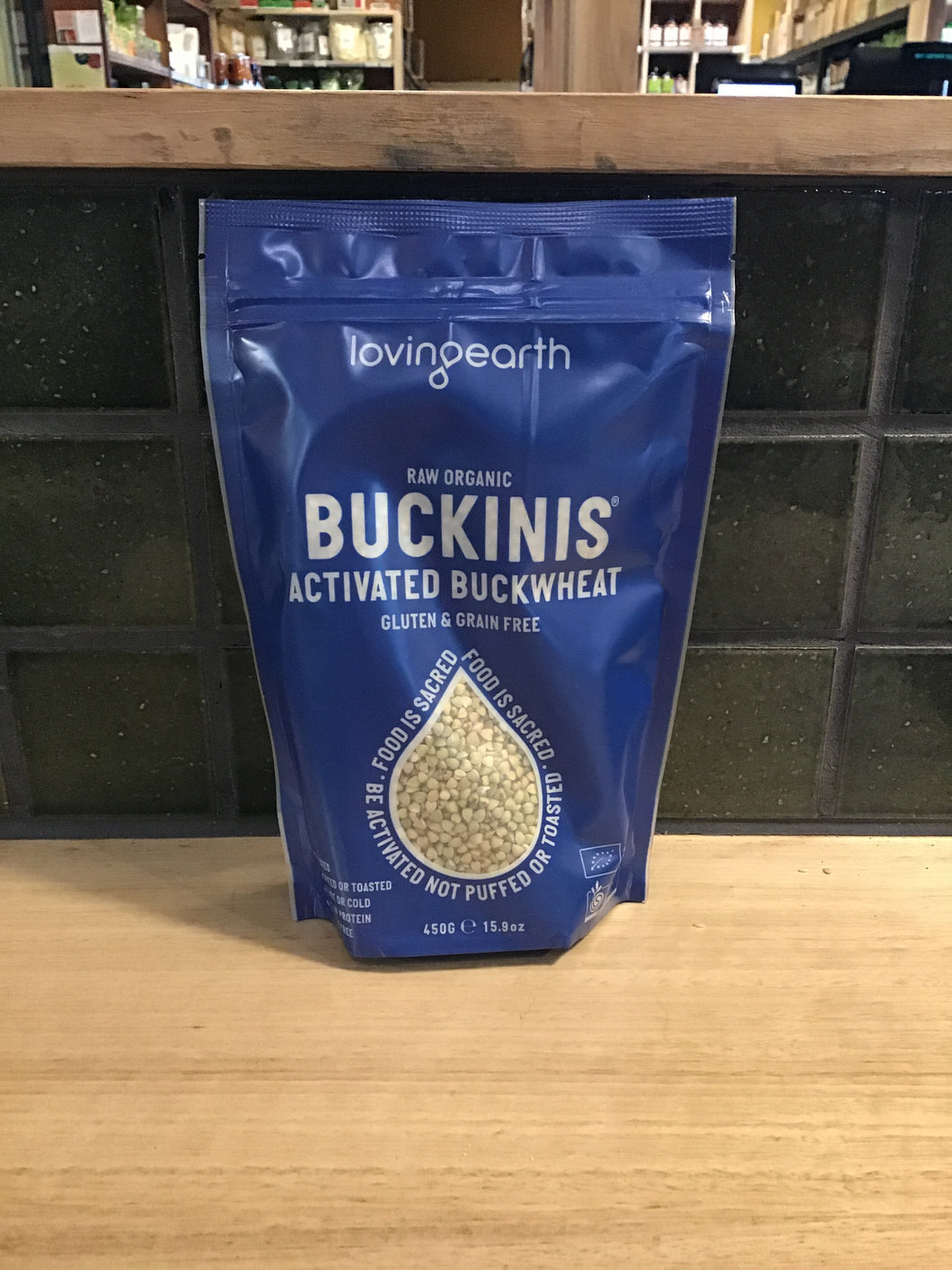 Loving Earth Buckinis Activated Buckwheat 450g