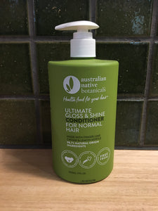 Australian Native Conditioner Gloss and Shine 500mL