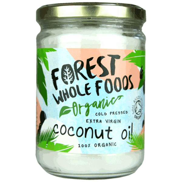 Forest Wholefoods Organic Raw Cold Pressed Extra Virgin Coconut Oil 500ML
