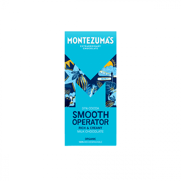 Montezuma Organic Milk Chocolate 90G