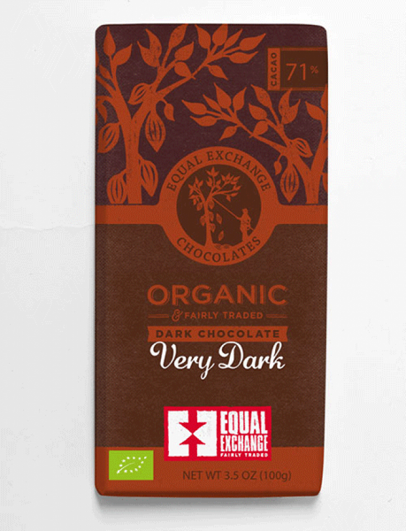 Equal Exchange Organic Very Dark Chocolate 100G