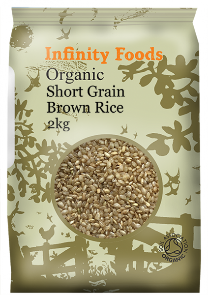 Infinity Organic Brown Short Grain Rice 2Kg