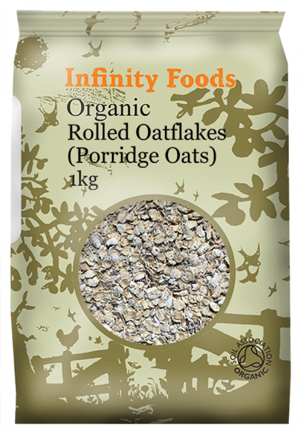 Infinity Organic Rolled Oatflakes 1kg