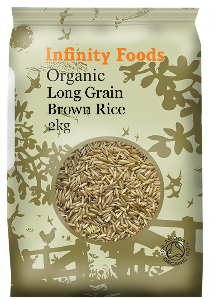 Infinity Organic Long Grain Brown Rice 2Kg
