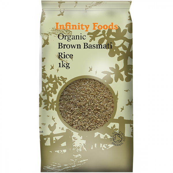 Infinity Organic Brown Basmati Rice 1Kg