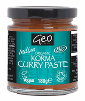 Geo Organic Korma Curry Paste 180G