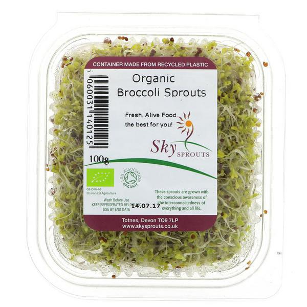 Organic Sky Sprouts - Broccoli 100G
