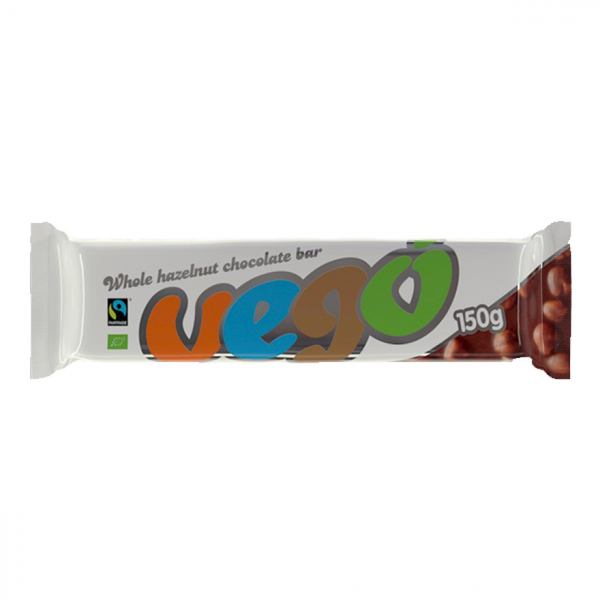 Vego Organic Hazelnut Chocolate 150G