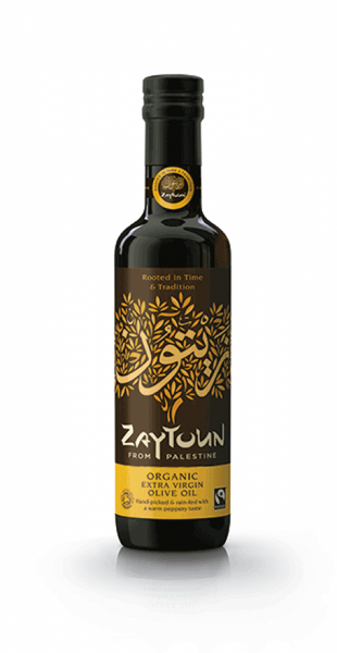 Zaytoun Organic extra virgin olive oil 250ml