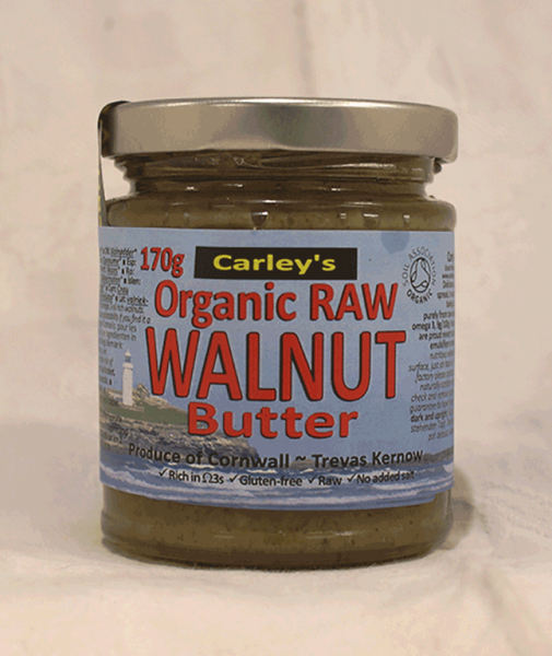 Carley's Organic raw walnut butter 170G
