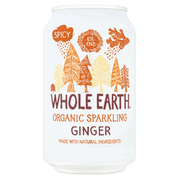 Whole Earth Organic Ginger 330ML