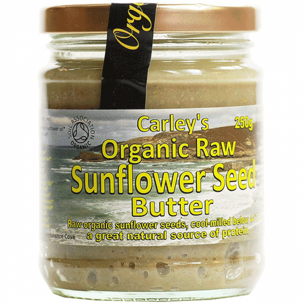 Carley's Organic raw sunflower seed butter 250G